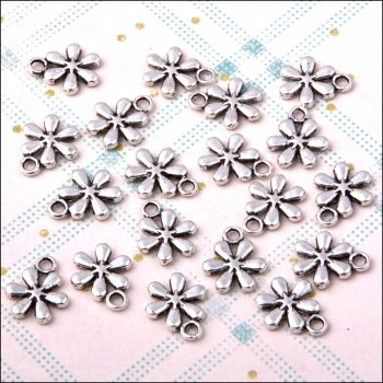 The Hobby House Metal Charms & Spacers - Daisy Chain