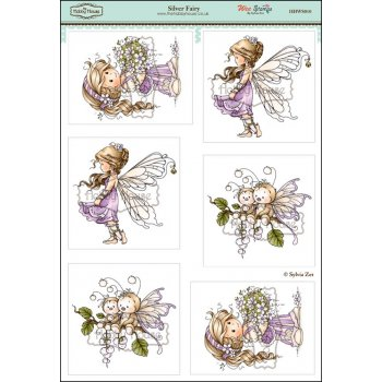 Wee Stamps - Silver Fairy SLIGHT SECONDS