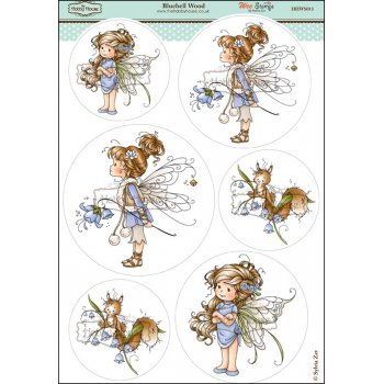 The Hobby House Wee Stamps - Bluebell Wood SLIGHT SECONDS
