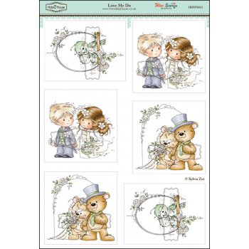 The Hobby House Wee Stamps - Love Me Do
