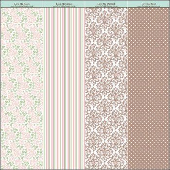 The Hobby House Love Me Paper Collection