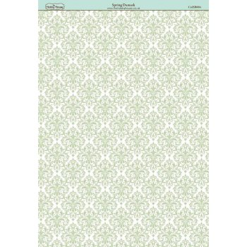 The Hobby House Spring Damask Paper