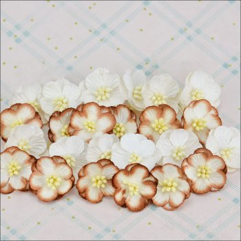 The Hobby House Mulberry Paper Cherry Blossoms - Mocha