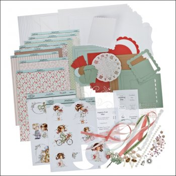 The Hobby House Wee Cardmaking Kit featuring Spring Bringer and Love Me DO (UK DELIVERY ONLY)