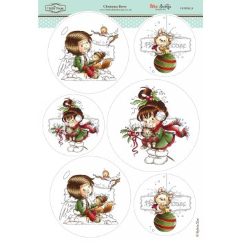 The Hobby House Wee Stamps - Christmas Berry