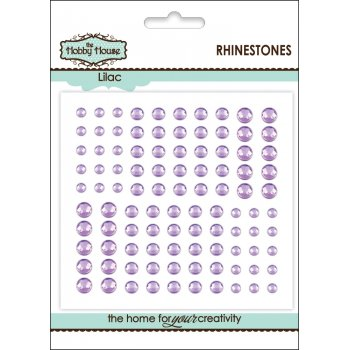 The Hobby House Self Adhesive Rhinestones - Lilac SLIGHT SECONDS