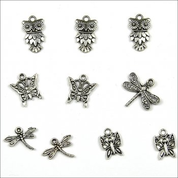 The Hobby House Metal Charms & Spacers - Critters