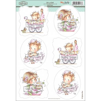 Wee Stamps - It's a Girl
