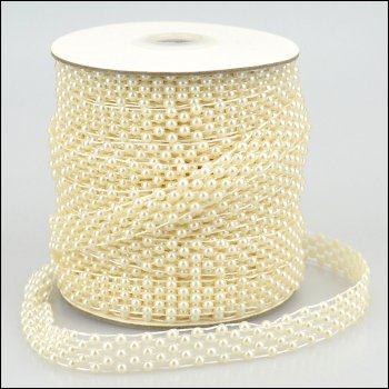 The Hobby House Pearl Strings - Lattice Weave - 1 metre
