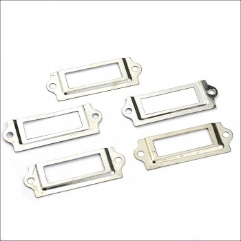 The Hobby House Hardware Findings - Silver Label Holder