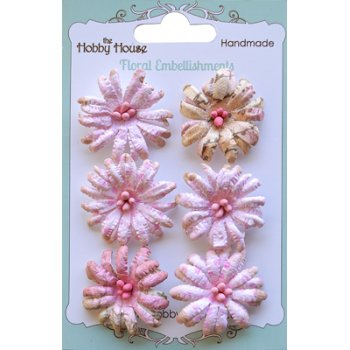 The Hobby House Boutique Paper Flower - Daisies Pink