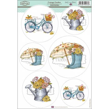 The Hobby House Daisy Mae Draws Card Toppers - Cottage Garden