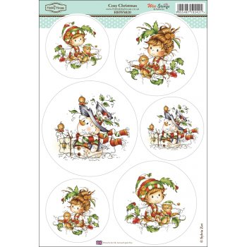 The Hobby House Wee Stamps - Cozy Christmas SLIGHT SECONDS