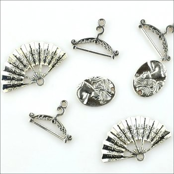 The Hobby House Metal Charms & Spacers - Elegance