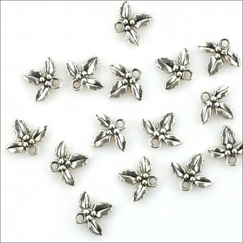Metal Charms & Spacers - Holly