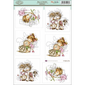 The Hobby House Wee Stamps - Beau & Bashful SLIGHT SECONDS