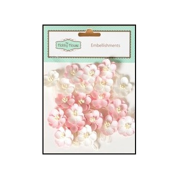 The Hobby House Mulberry Paper Cherry Blossoms - Pink Sherbet