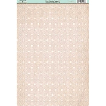 The Hobby House Rose Garden Butterfly Paper