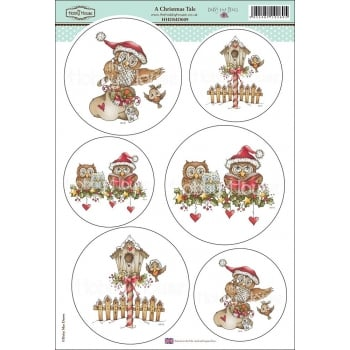 The Hobby House Daisy Mae Draws Card Toppers - A Christmas Tale SLIGHT SECONDS