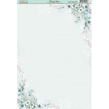 The Hobby House Winter Rose Paper