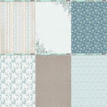 The Hobby House Winter Rose Paper Collection
