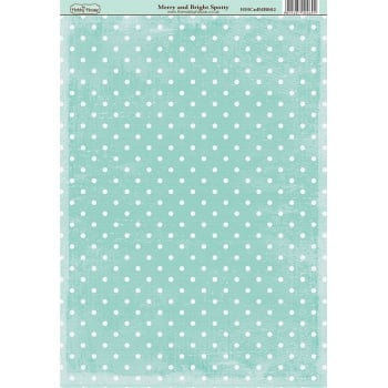 The Hobby House Merry & Bright Spotty Paper