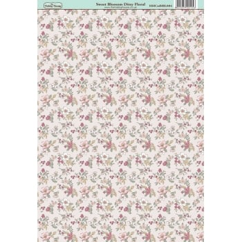 The Hobby House Sweet Blossom Ditsy Floral Paper