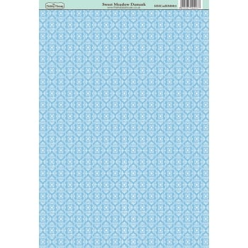 The Hobby House Sweet Meadow Damask Paper