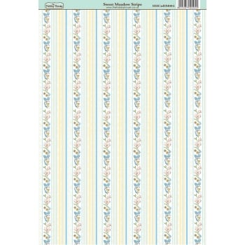 The Hobby House Sweet Meadow Stripe Paper