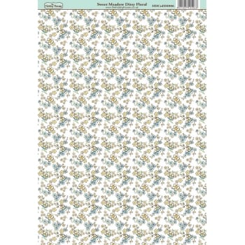 The Hobby House Sweet Meadow Ditsy Floral Paper