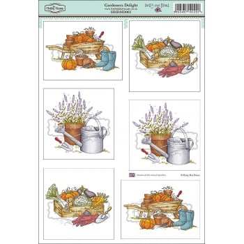 The Hobby House Daisy Mae Draws Card Toppers - Gardeners Delight