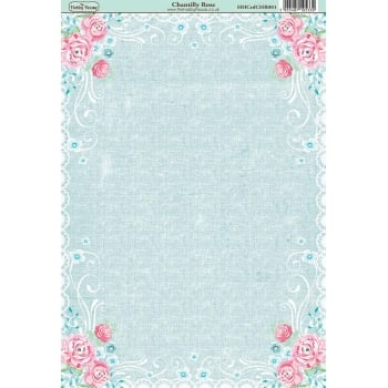 The Hobby House Chantilly Rose Paper