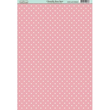 The Hobby House Chantilly Rose Spot Paper