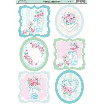 The Hobby House Chantilly Rose Topper SLIGHT SECONDS