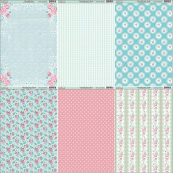 Chantilly Rose Paper Collection