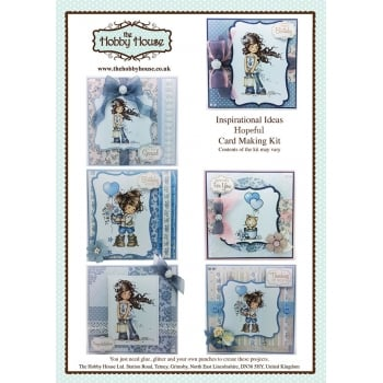 The Hobby House Wee Hopeful Cardmaking Kit (UK Delivery Only)