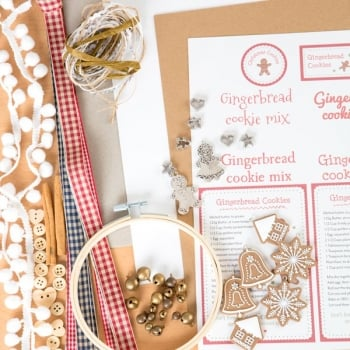 The Hobby House Gingerbread Cookies Embellishment Collection (UK Delivery Only)