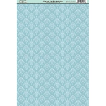 The Hobby House Vintage Garden Damask Paper