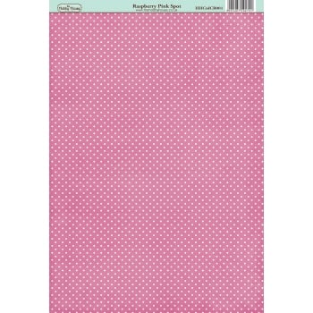 The Hobby House Classic Raspberry Pink Spot Paper