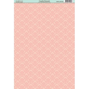The Hobby House Camila Damask Paper