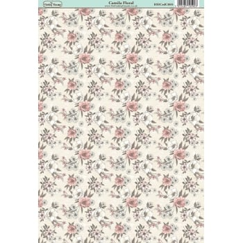 The Hobby House Camila Floral Paper
