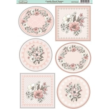 The Hobby House Camila Floral Topper SLIGHT SECONDS