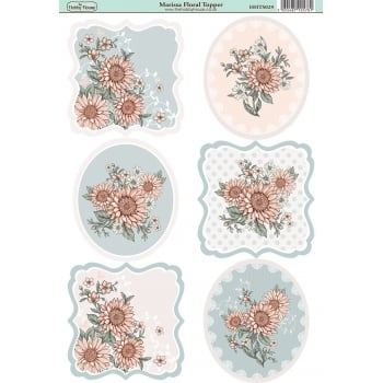 The Hobby House Marissa Floral Topper SLIGHT SECONDS