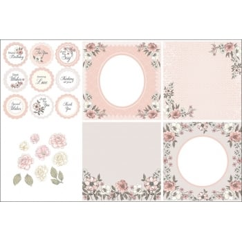 The Hobby House Camila Decorative Panels and Die-cuts