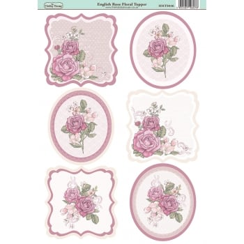 The Hobby House English Rose Floral Topper