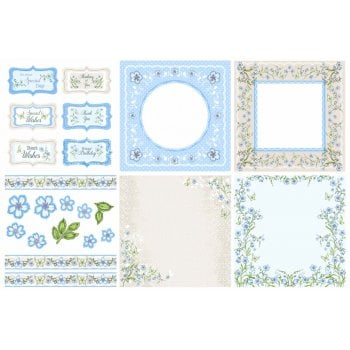 Bluebell Wood Decorative Panels and Die-cuts