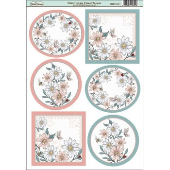 The Hobby House Daisy Chain Floral Topper SLIGHT SECONDS