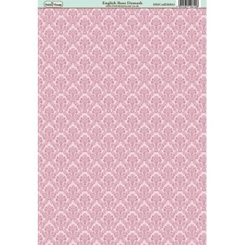 The Hobby House English Rose Damask Paper