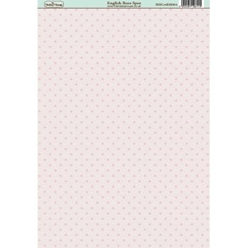 The Hobby House English Rose Spot Paper