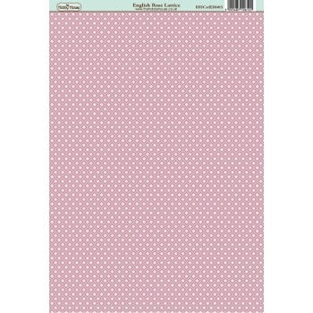 English Rose Lattice Paper